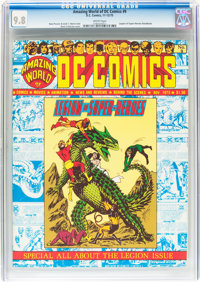 Amazing World of DC Comics #9 (DC, 1975) CGC NM/MT 9.8 White pages