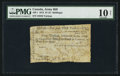 Canadian Currency: , Quebec, LC- $1/5s/1 Piastre Army Bill March 1814 . ...