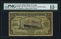 Canadian Currency: , Georgetown, British Guiana- Royal Bank of Canada $5 (£1-0-10)January 3, 1938 Ch. # 630-38-02. ...