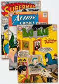 Silver Age (1956-1969):Superhero, Batman/Superman Related Group of 26 (DC, 1957-69) Condition: Average GD-.... (Total: 26 Comic Books)