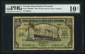 Canadian Currency: , St. Johns, Antigua- Royal Bank of Canada $5 (£1-0-10) Jan. 3, 1938Ch. # 630-26-02. ...