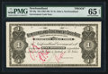 Canadian Currency: , St. John's NF- Newfoundland Government Cash Note $1 ND (1901-09)Ch. NF-5fp Proof. ...