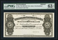 Canadian Currency: , St. John's NF- Newfoundland Government Cash Note $5 ND (1901-09)Ch. NF-6fp Proof . ...