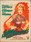 "Movie Posters:Western, Rancho Notorious (RKO, 1952). French Grande (46"" X 61""). Western....."