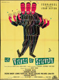 """Movie Posters:Foreign, Vines of the Lord (Cocinor, 1958). French Grande (45"""" X 61.5""""). Foreign.. ..."""