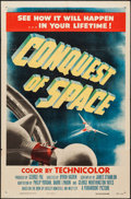 "Movie Posters:Science Fiction, Conquest of Space (Paramount, 1955). One Sheet (27"" X 41""). ScienceFiction.. ..."