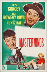 """Master Minds (Allied Artists, R-1960). Stock One Sheet (27"""" X 41""""). Horror"""