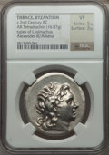 Ancients:Greek, Ancients: THRACIAN KINGDOM. Lysimachus (306-281 BC). AR tetradrachm(16.87 gm)....