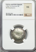Ancients:Celtic, Ancients: DANUBIAN CELTS. Ca. 3rd-2nd centuries BC. AR tetradrachm(no wt. given)....