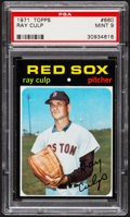 Baseball Cards:Singles (1970-Now), 1971 Topps Ray Culp #660 PSA Mint 9....