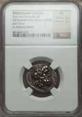 Ancients:Greek, Ancients: THESSALY. Thessalian League. Ca. 196-27 BC. ARdouble-victoriatus or stater (6.09 gm)....