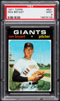 Baseball Cards:Singles (1970-Now), 1971 Topps Ron Bryant #621 PSA Mint 9....