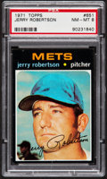 Baseball Cards:Singles (1970-Now), 1971 Topps Jerry Robertson #651 PSA NM-MT 8....