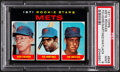 Baseball Cards:Singles (1970-Now), 1971 Topps Mets Rookies #648 PSA Mint 9....