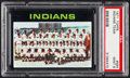 Baseball Cards:Singles (1970-Now), 1971 Topps Indians Team #584 PSA Mint 9....
