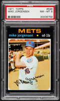 Baseball Cards:Singles (1970-Now), 1971 Topps Mike Jorgensen #596 PSA NM-MT 8....