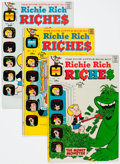 Bronze Age (1970-1979):Humor, Richie Rich Riches File Copy Short Box Group (Harvey, 1972-82)Condition: Average NM-....