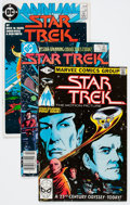 Modern Age (1980-Present):Science Fiction, Star Trek-Related Box Lot (Various Publishers, 1980s-90s)Condition: Average NM-....