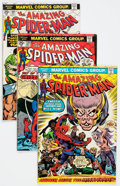 Modern Age (1980-Present):Superhero, The Amazing Spider-Man Short Boxes Group (Marvel, 1970s-90s)Condition: Average FN.... (Total: 3 Box Lots)
