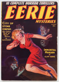 Pulps:Detective, Eerie Mysteries V1#1 (Magazine Publishers Inc., 1938) Condition:FN-....