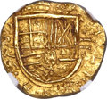 Colombia, Colombia: Philip IV gold 2 Escudos 1635-NR MS61 NGC,...