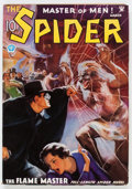 Pulps:Hero, The Spider - March 1935 (Popular) Condition: FN-....