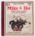 Platinum Age (1897-1937):Miscellaneous, Comic Monthly #2 Mike & Ike (Embee Dist. Co., 1922) Condition:VG....