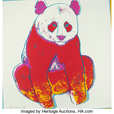 Andy Warhol (1928-1987) Endangered Species, 1983 Ten screenprints in colors on Lenox Museum Board 38 x 38 inches (96....