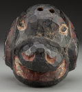 American Indian Art:Wood Sculpture, Dog Mask, Guatemalan. 20th c.. ...