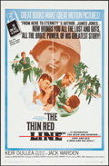 """Movie Posters:War, The Thin Red Line & Other Lot (Allied Artists, 1964). OneSheets (2) (27"""" X 41""""). War.. ... (Total: 2 Items)"""