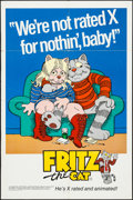 "Movie Posters:Animation, Fritz the Cat (Cinemation Industries, 1972). One Sheet (27"" X 41"").Animation.. ..."