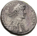 Ancients:Roman Provincial , Ancients: SYRIA. Antioch. Cleopatra and Marc Antony, rulers of the East (39-31 BC). AR tetradrachm (25mm, 15.25 mg, 12h)....