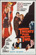 """Movie Posters:Mystery, Twenty Plus Two & Other Lot (Allied Artists, 1961). One Sheets(2) (27"""" X 41""""). Mystery.. ... (Total: 2 Items)"""