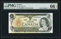 Canadian Currency: , Low Serial Number 0000007 BC-46a $1 1973 . ...