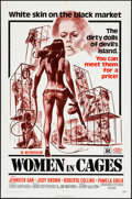 "Movie Posters:Sexploitation, Women in Cages (New World, 1971). One Sheet (27"" X 41""). Sexploitation.. ..."