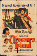 "Movie Posters:Adventure, Treasure Island & Other Lot (RKO, 1950). One Sheets (2) (27"" X41""). Adventure.. ... (Total: 2 Items)"