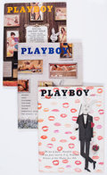 Magazines:Miscellaneous, Playboy 1960-62 Complete Years' Group (HMH Publishing, 1960-62)Condition: Average FN+.... (Total: 36 Items)