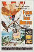 "Movie Posters:Adventure, Flight of the Lost Balloon & Other Lot (Woolner Brothers,1961). One Sheets (2) (27"" X 41""). Adventure.. ... (Total: 2 Items)"