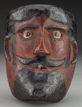 American Indian Art:Wood Sculpture, Maximon Mask, Probably Guatemalan. 20th c....