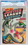 Silver Age (1956-1969):Superhero, The Brave and the Bold #28 Justice League of America (DC, 1960) CGCVG+ 4.5 Cream to off-white pages....