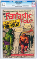 Silver Age (1956-1969):Superhero, Fantastic Four #12 (Marvel, 1963) CGC VF 8.0 Off-white pages....