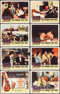 """Movie Posters:Drama, The Harder They Fall (Columbia, 1956). Lobby Card Set of 8 (11"""" X 14""""). Drama.. ... (Total: 8 Items)"""