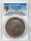 Great Britain: George V Proof Crown 1927 PR58 PCGS