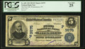 National Bank Notes:Nevada, Winnemucca, NV - $5 1902 Plain Back Fr. 600 The First NB Ch. # (P)3575. ...