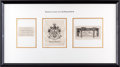 Books:Americana & American History, [Bookplates]. Collection of Seven Bookplates from AmericanPresidents or Their Relations. [N.p., n.d.] ... (Total: 3 Items)