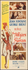 """Movie Posters:Comedy, The Affairs of Susan (Paramount, 1945). Insert (14"""" X 36""""). Comedy.. ..."""