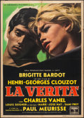 """Movie Posters:Foreign, The Truth (Columbia, 1960). Italian 2 - Foglio (39.25"""" X 55""""). Foreign.. ..."""
