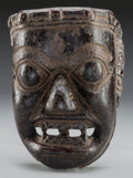 Tribal Art, Mask, Northern Nepal. Sherpa...