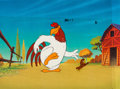 Animation Art:Production Cel, Foghorn Leghorn and Henery the Hawk TV Commercial Production Cel(Warner Bros., 1987)....