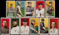 Baseball Cards:Lots, 1909-11 T206 White Border Collection (11) With Piedmont & Sweet Caporal....